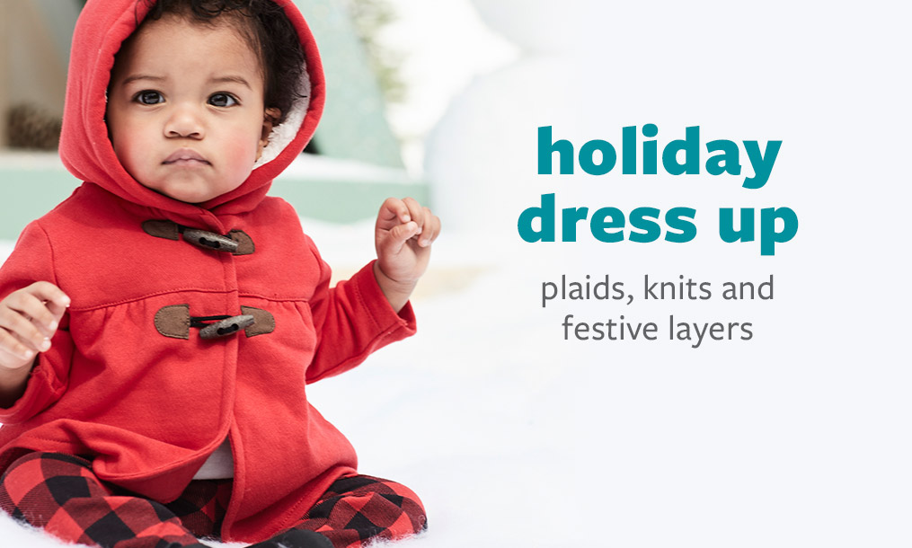 holiday dress up - plaids, knits and festive layers