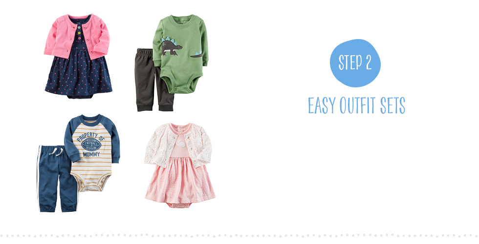 Step 2 - Easy Outfit Sets