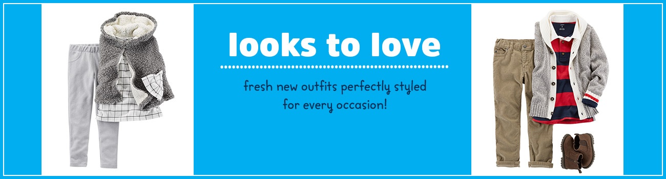 looks to love - fresh new outfits perfectly styled for every occasion!