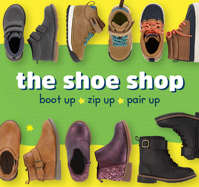 The Shoe Shop - Boot Up - Zip Up - Pair Up