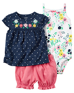 Shop baby girls' clothing from dresses to newborn outfits to unisex baby clothing. Joe Fresh is your shower destination with stylish baby gifts of all kinds. Find the latest trends in bodysuits, t-shirts, tops, dresses, jeans, swimwear, skirts, sleepers, shoes, sweaters, rompers, graphic tees and more.