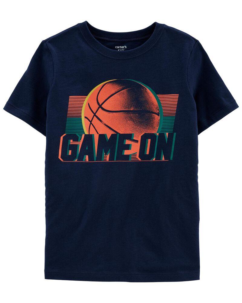 T-shirt de basketball en jersey, , hi-res