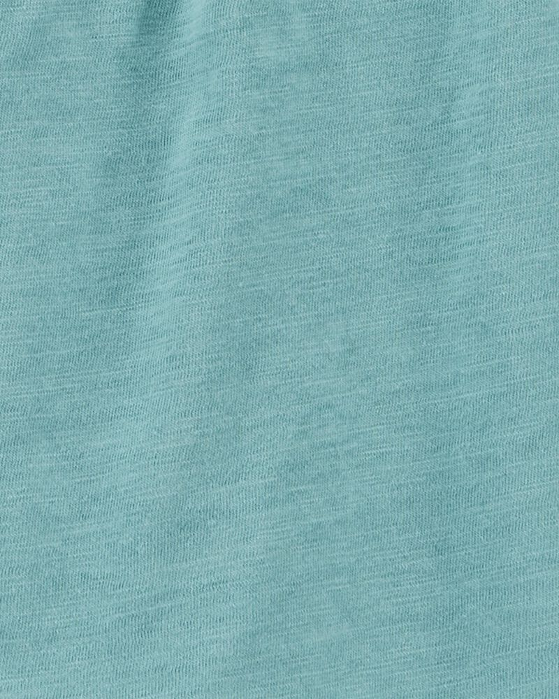 2-Piece Slub Jersey Top & Short Set, , hi-res
