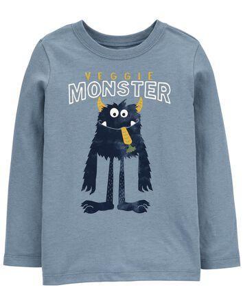 T-shirt en jersey à monstre