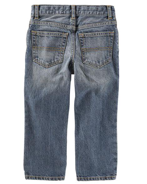 Jeans classique - délavage bleu véritable Rail Tie