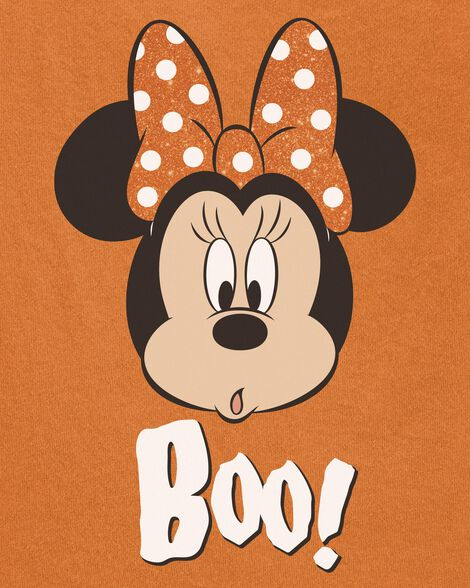 T-shirt d'Halloween Minnie Mouse qui brille dans le noir