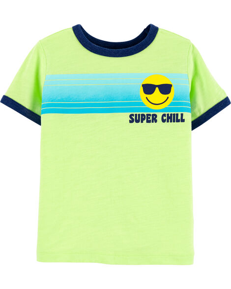 T-shirt rayé Super Chill