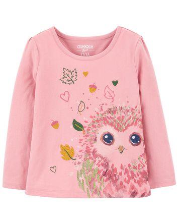 Owl Sparkle Tee