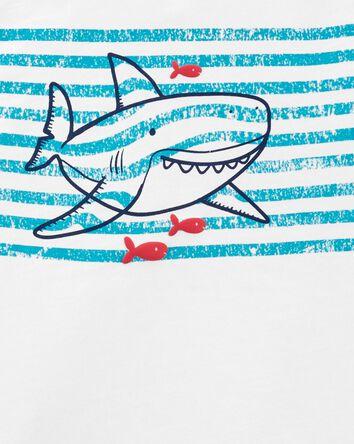 2-Piece Shark Henley & Short Set