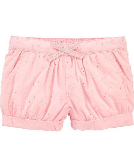Eyelet Bubble Shorts