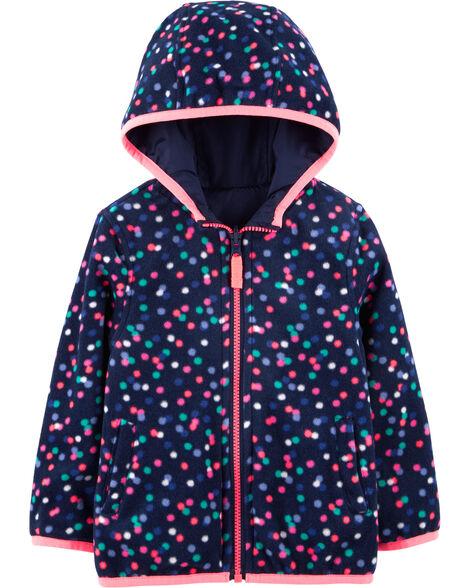 Reversible Fleece-Lined Lightweight Jacket