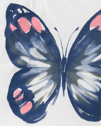 2-Piece Butterfly Jersey Tee & Legg...