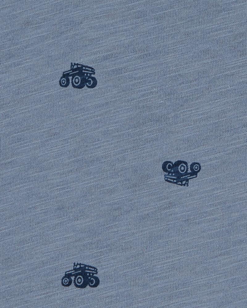 T-shirt à poche et camion monstre, , hi-res