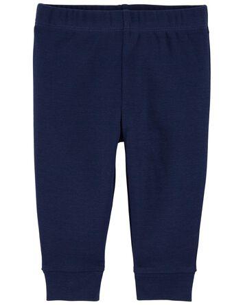 Pull-On Cotton Pants