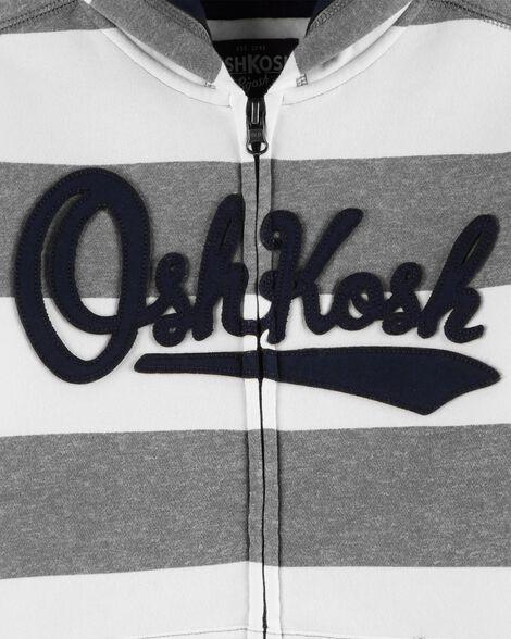 Striped Logo Hoodie