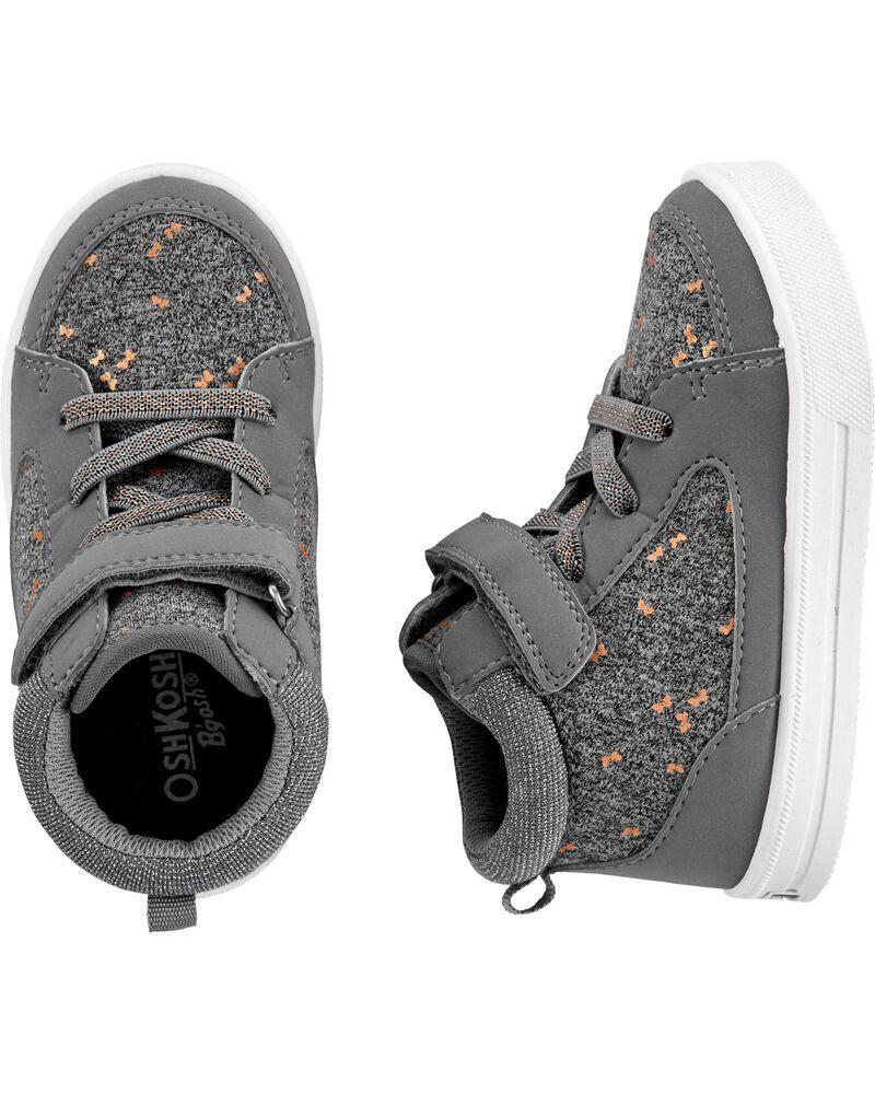 Chaussures de coupe haute à papillon scintillant, , hi-res
