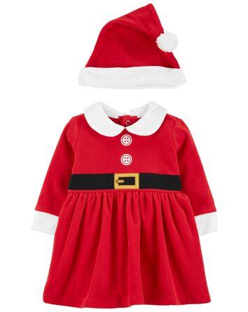 Ensemble robe Mère Noel