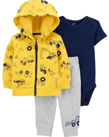 3-Piece Construction Little Jacket...