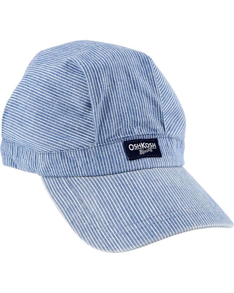 Hickory Striped Hat, , hi-res