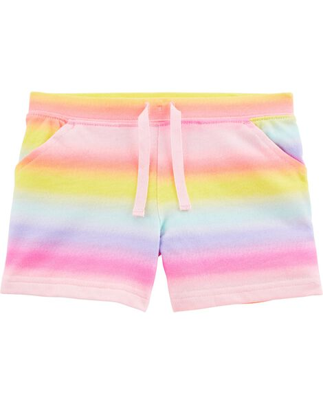 Rainbow Pull-On French Terry Shorts