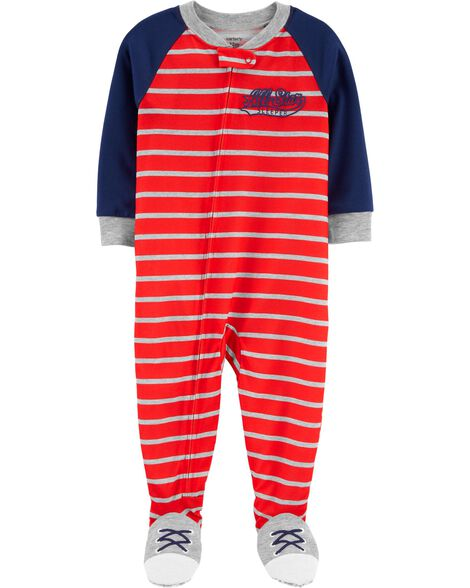 Pyjama 1 pièce de coupe ample à pieds