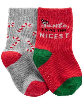 2 paires de chaussettes mi-mollet d...