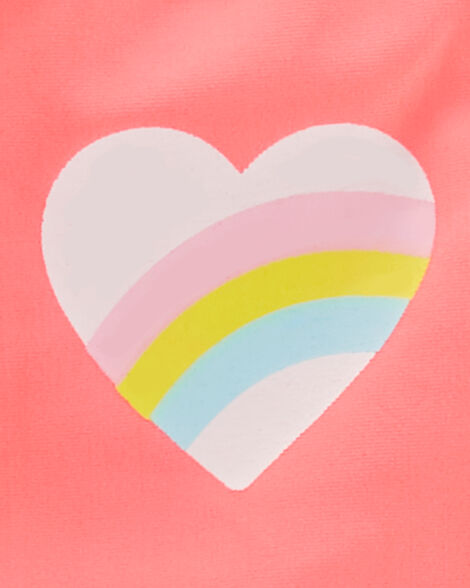 Rainbow Heart Tankini