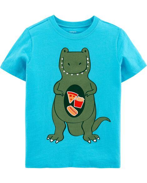 T-shirt en jersey Dinosaur Food