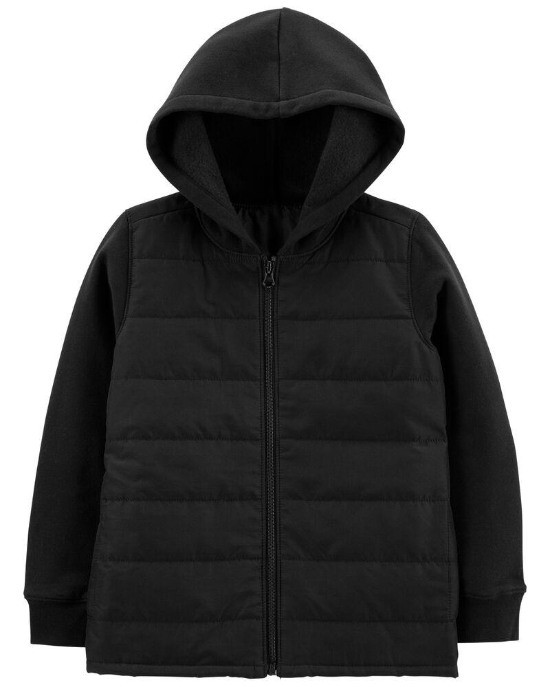 Fleece Puffer Jacket, , hi-res