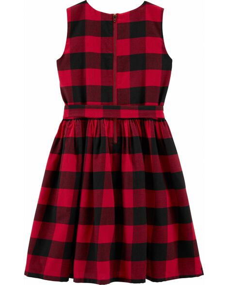 Buffalo Check Holiday  Dress