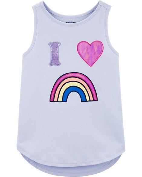 Rainbow Summer Tank