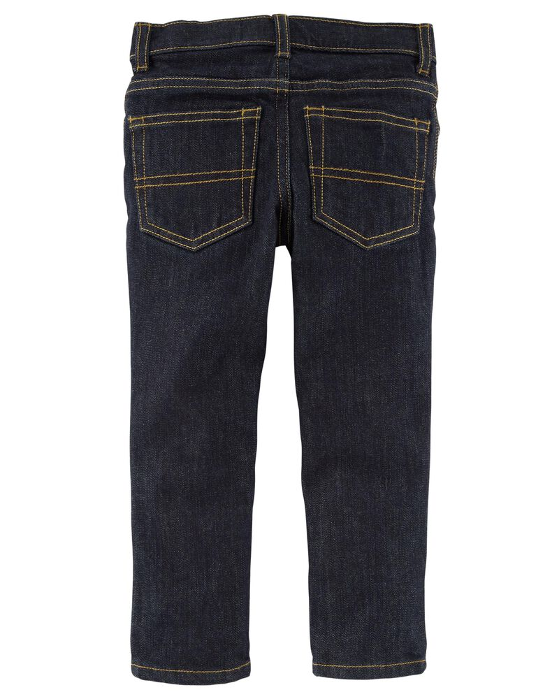 Regular Fit Skinny Jeans - True Rinse Wash, , hi-res