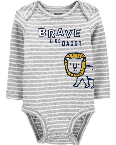 Brave Like Daddy Original Bodysuit