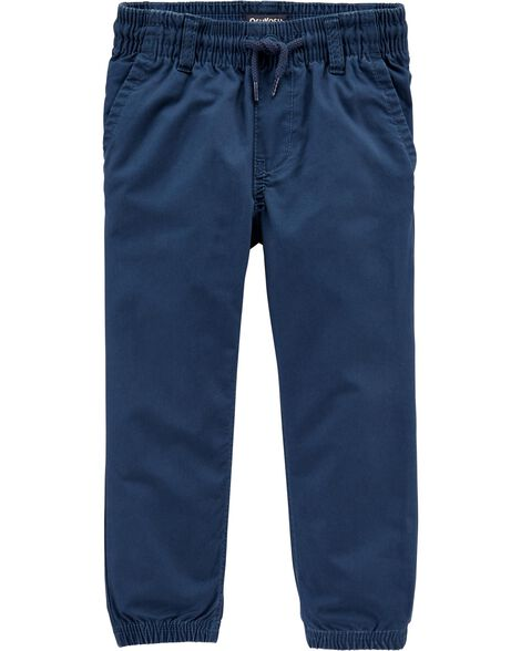 Flat Front Joggers