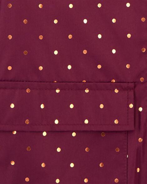 Polka Dot Midweight Jacket