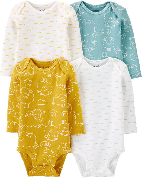 4-Pack Sheep Original Bodysuits