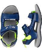 Sandales clignotantes à monstre , , hi-res