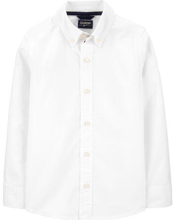 Uniform Button-Front Shirt
