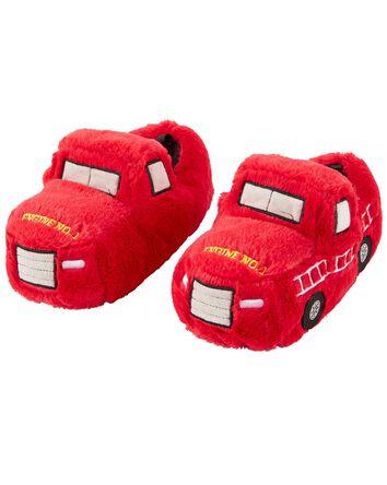 Pantoufles camion d'incendie