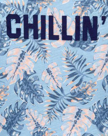 T-shirt palmier Chillin'