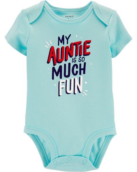 Fun Auntie Collectible Bodysuit