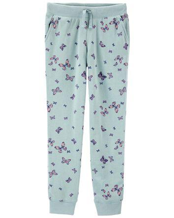Butterfly Logo Fleece Pants