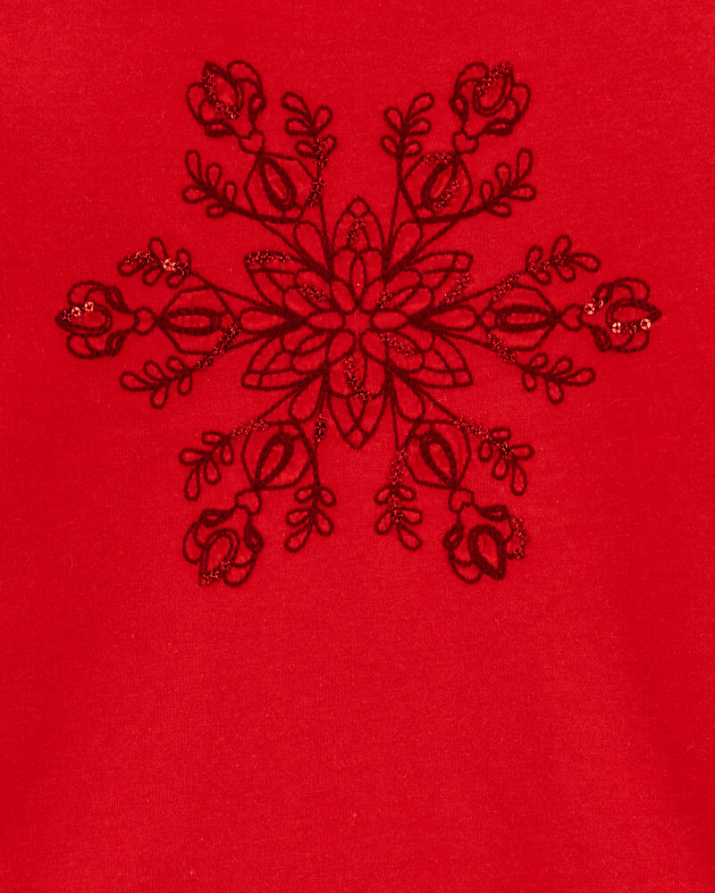 T-shirt flocon de neige, , hi-res