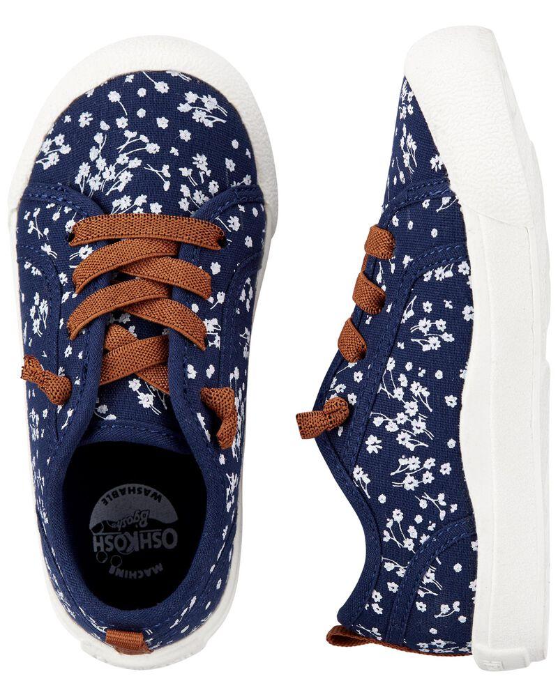 Floral Slip-on Sneakers, , hi-res