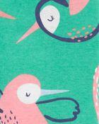 1-Piece Hummingbird 100% Snug Fit Cotton Footie PJs, , hi-res