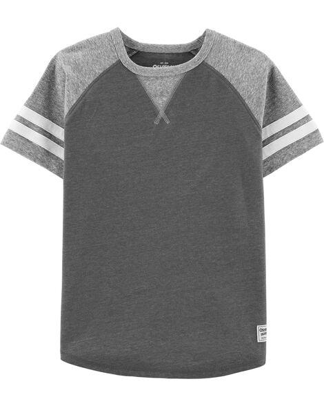 T-shirt à manches rayées