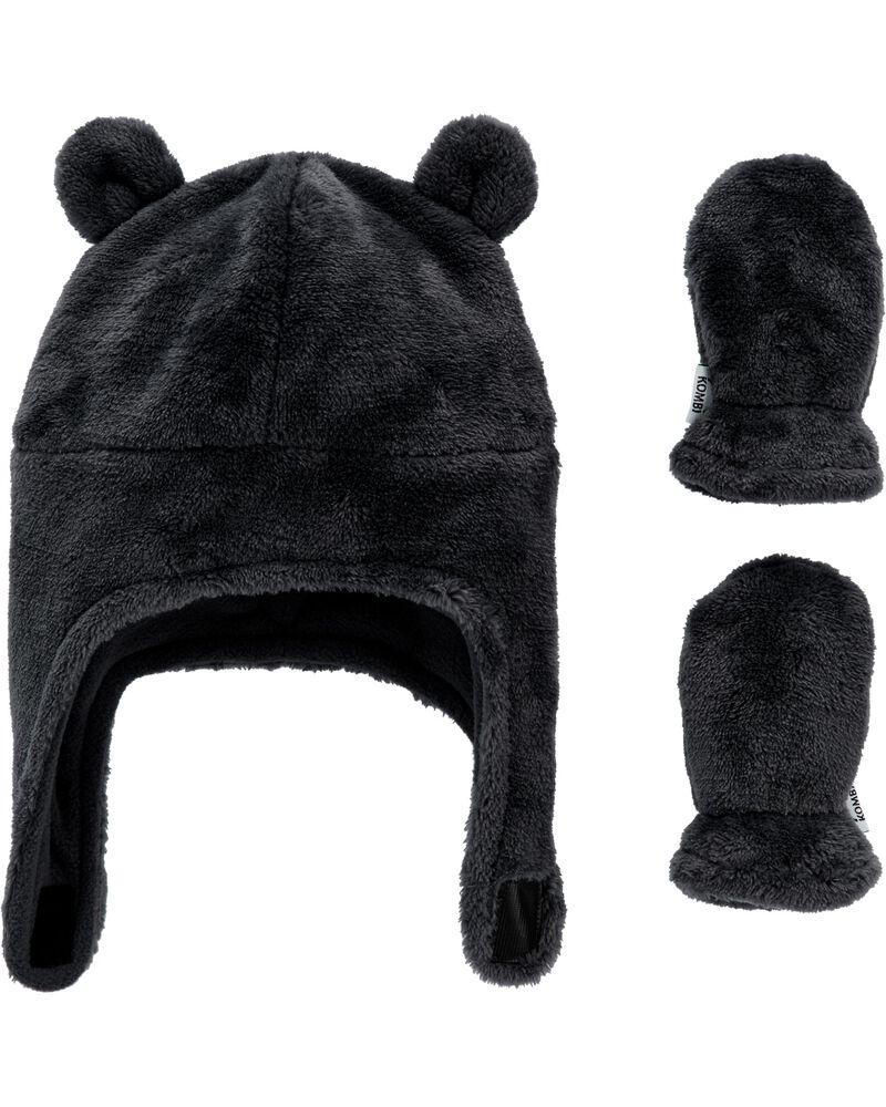 Kombi Plush Hat & Mitt Set, , hi-res