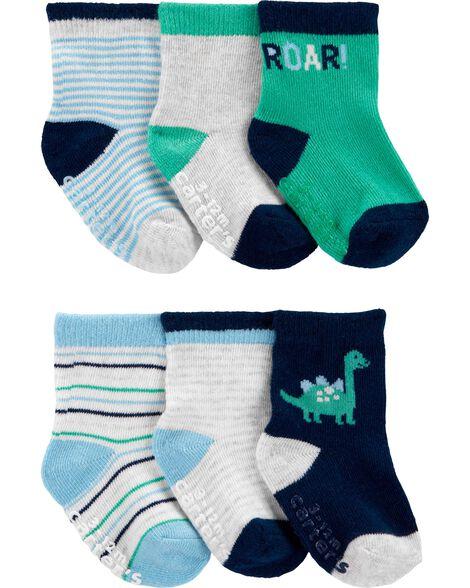 6-Pack Crew Socks