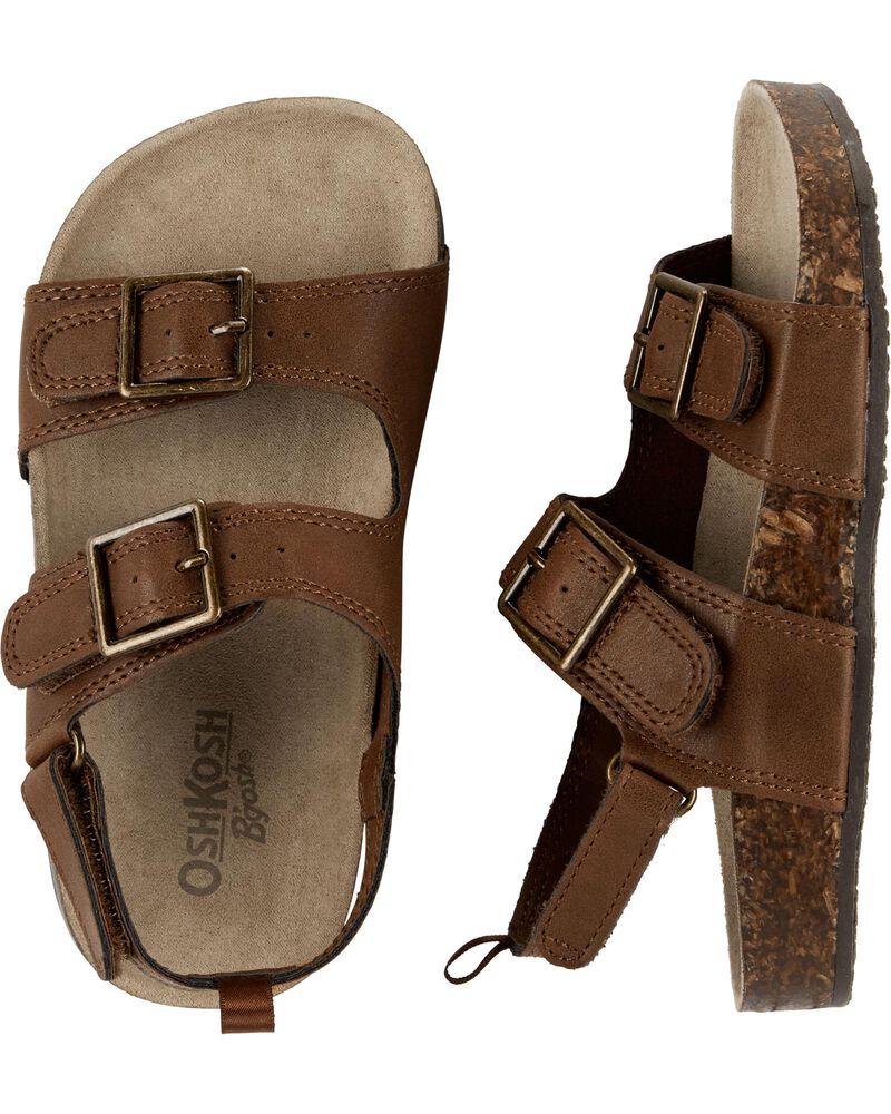 Sandales à boucles, , hi-res