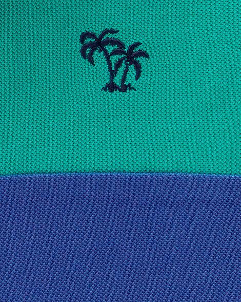 Shark Colourblock Polo